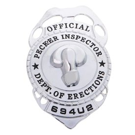 Kheper Games Pecker Inspector Badge
