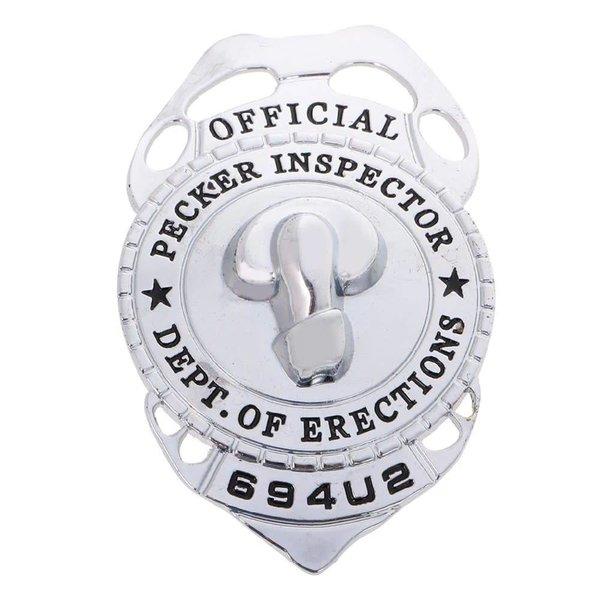 Kheper Games Pecker Inspector Badge
