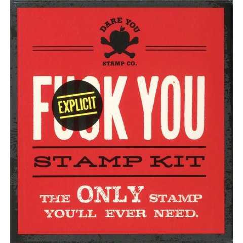 F*ck You Stamp Kit