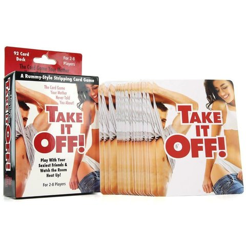 Take It Off Card Game
