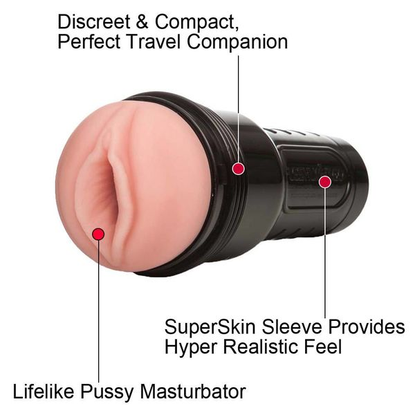 Fleshlight Go Stamina Trainer - Surge Pink Lady