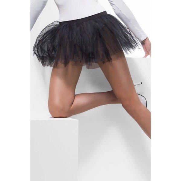 Fever/Smiffys Tutu Underskirt Black - One Size
