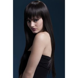 Fever/Smiffys Jessica Wig - Brown