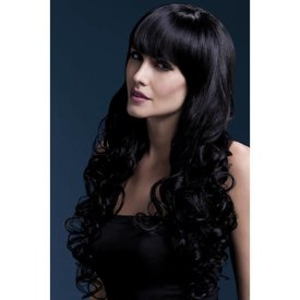 Fever/Smiffys Isabelle Wig - Black