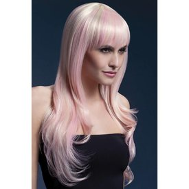 Fever/Smiffys Sienna Wig - Blonde Candy