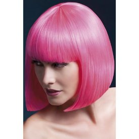 Fever/Smiffys Elise Wig - Neon Pink