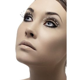 Fever/Smiffys Droplet Eyelashes - Black