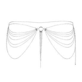 Bijoux Indiscrets Magnifique Waist Chain - Silver