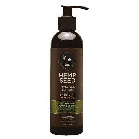 Hemp Hand & Body Massage Lotion - 8 oz Guavalava
