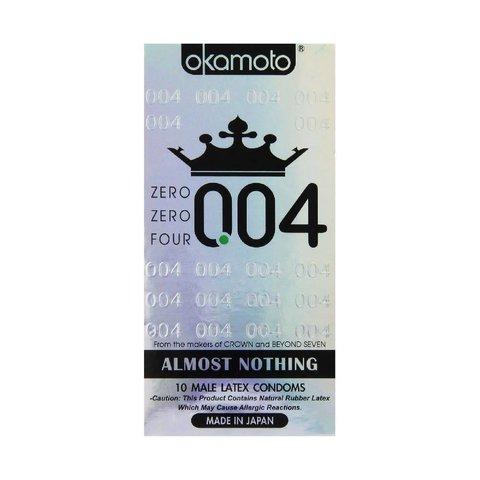 004 Condom 10-pack