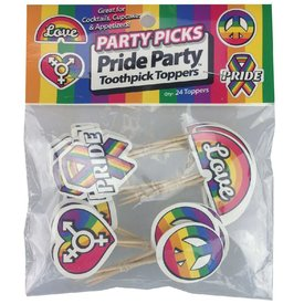 Little Genie Party Picks - Pride