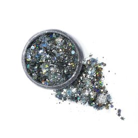 Lunautics Silver Sterling Biodegradable Body Glitter