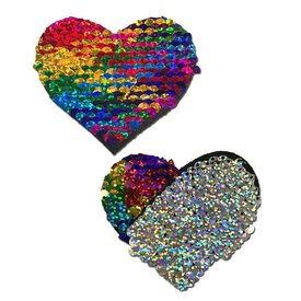 Pastease Rainbow Color Changing Heart Pasties