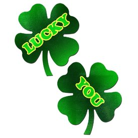 "Pastease ""Lucky You"" Shamrock Pasties"