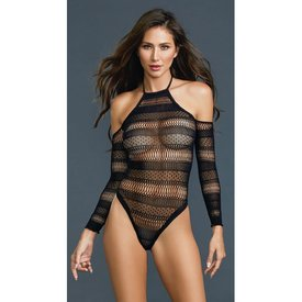 Dreamgirl Seamless Cold Shoulder Teddy