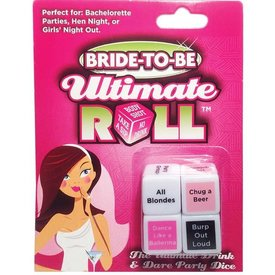 Bride-to-Be Ultimate Roll Dice Game