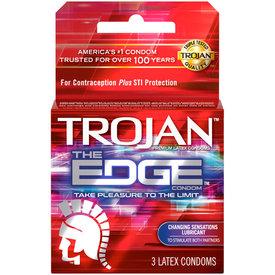 Trojan The Edge Condom 3-pk