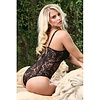 Push Up Cup Lace Teddy