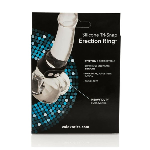 CalExotic Silicone Tri-Snap Erection Ring