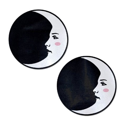 Black and White Moon Pasties