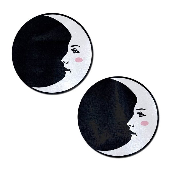 Pastease Black and White Moon Pasties