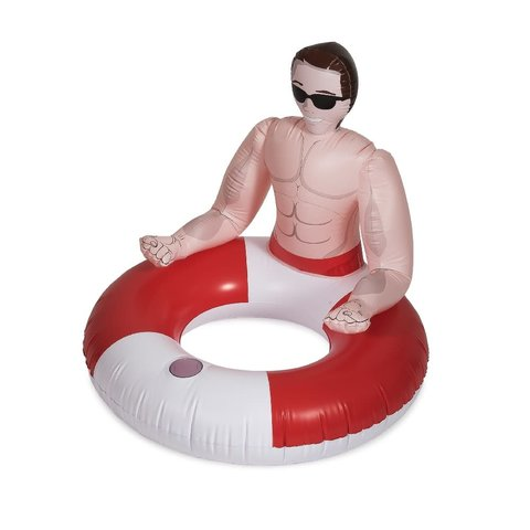 Inflatable Hunk Pool Ring