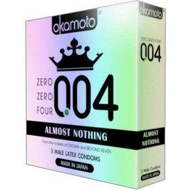 Okamoto 004 Condom 3-pack