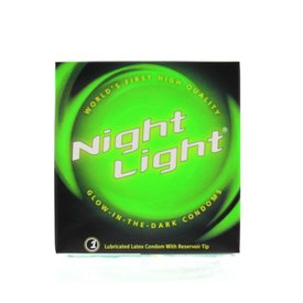 Night Light Condom Single