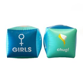 Drinking Buddies Inflatable Dice