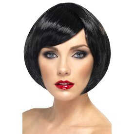 Fever/Smiffys Short Bob Wig with Fringe