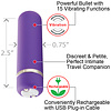 Joie Rechargeable 15 Function Bullet Vibrator