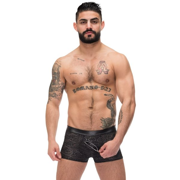 Male Power Zip Pouch Short
