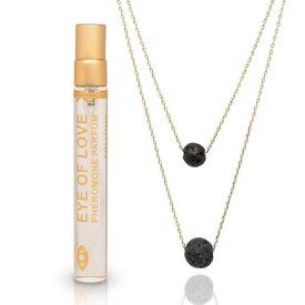 Eye of Love 2-Layer Necklace - Gold - After Dark  Parfum 10ml