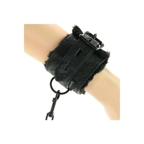 Sportsheets Lace Fur Lined Handcuffs
