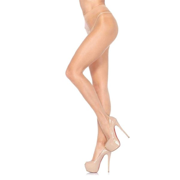 Leg Avenue Lycra Sheer Pantyhose  - Honey Beige