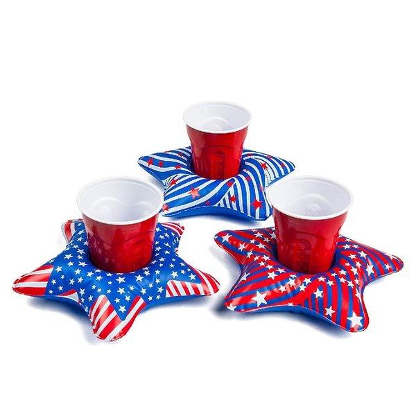 Big Mouth Patriotic Beverage Boats 3 Pack