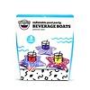 Patriotic Beverage Boats 3 Pack