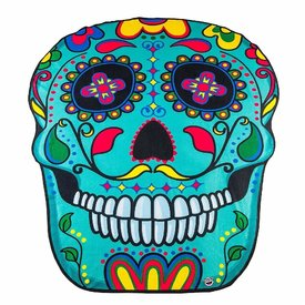 Big Mouth Sugar Skull Beach Blanket