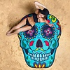 Sugar Skull Beach Blanket