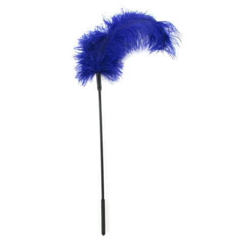 Ostrich Feather Purple Tickler
