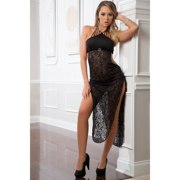 G World  Intimates Straps and Lace Dress