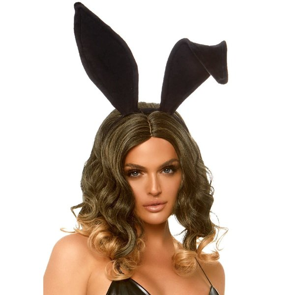 Leg Avenue Bendable Velvet Bunny Ears