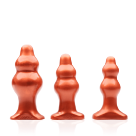 Tantus Severin Super Soft Anal Plug Copper