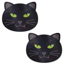 Pastease Black Halloween Vampire Cat Pasties