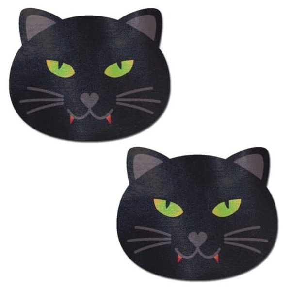 Pastease Black Halloween Vampire Cat Pasties