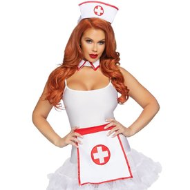 Leg Avenue Three Piece Naughty Nurse Kit