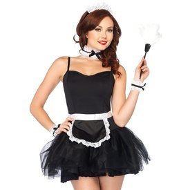 Leg Avenue Four Piece French Maid Kit