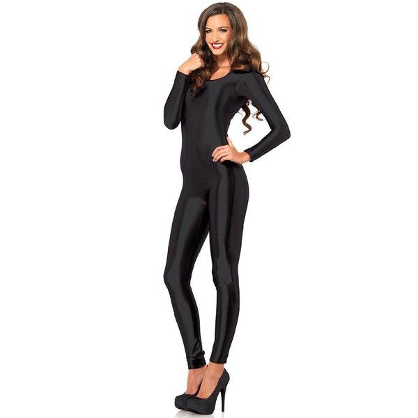 Leg Avenue Black Spandex Catsuit