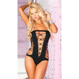 Rene Rofe Juicy Seamless Bodysuit Black - One Size