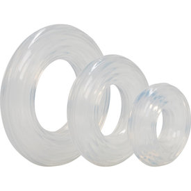 CalExotic Premium Silicone Ring Set